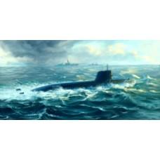 Japanese Soryu Class Attack Submarine