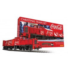 Christmas Coca Cola Train Set Hornby