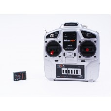 Microzone MC6A Transmitter and Receiver Package (Mode 2) with the MC7RB  Receiver