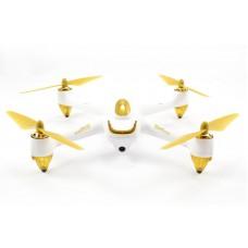 HUBSAN 501S-W X4 AIR WHITE FPV DRONE W/GPS 1080P, 1KEY, FOLLOW ME & HEADLESS