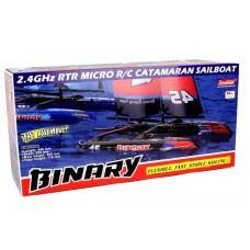 Binary 400mm Mini Catamaran Sailboat
