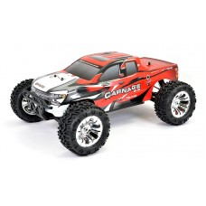 FTX CARNAGE UPDATED 1/10TH 4WD RTR BRUSHED ELECTRIC TRUCK-RED