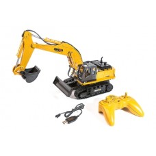 HUINA 1/16 SCALE RC EXCAVATOR 2.4G 11CH W/DIE CAST BUCKET