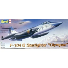 F-104G Starfighter Olympos Jet Fighter