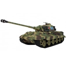 Henglong 1:16 German King Tiger Henschel (2.4GHz+Shooter+Smoke+Sound)
